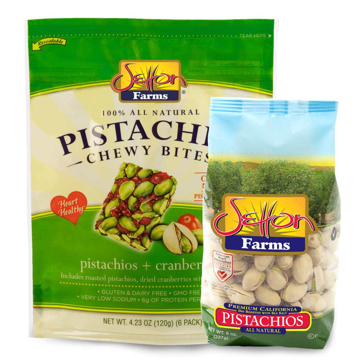 Setton Farms- PCB and Pistachios 8 oz