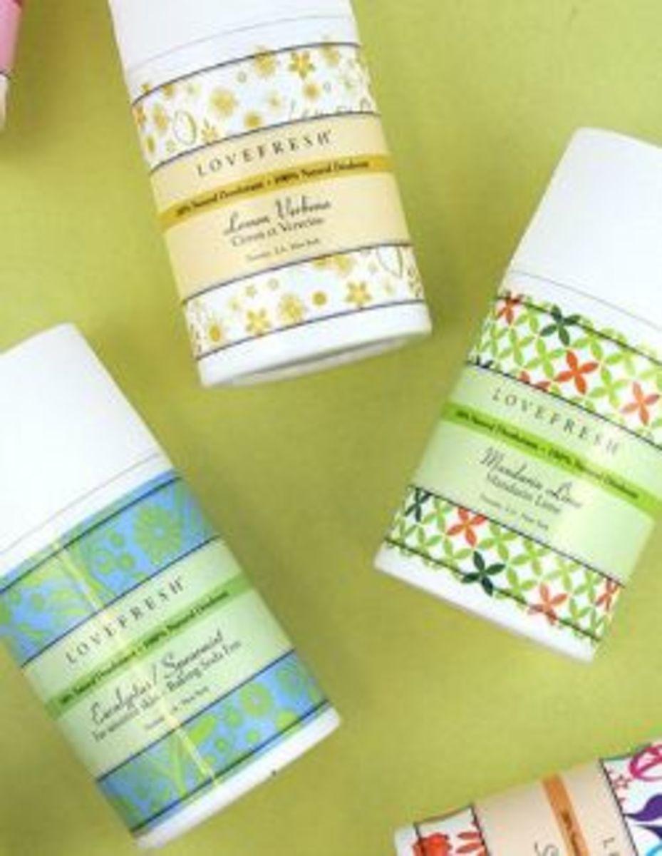 Healthy Deodorant Alternatives LOVEFRESH Natural Cream Deodorant