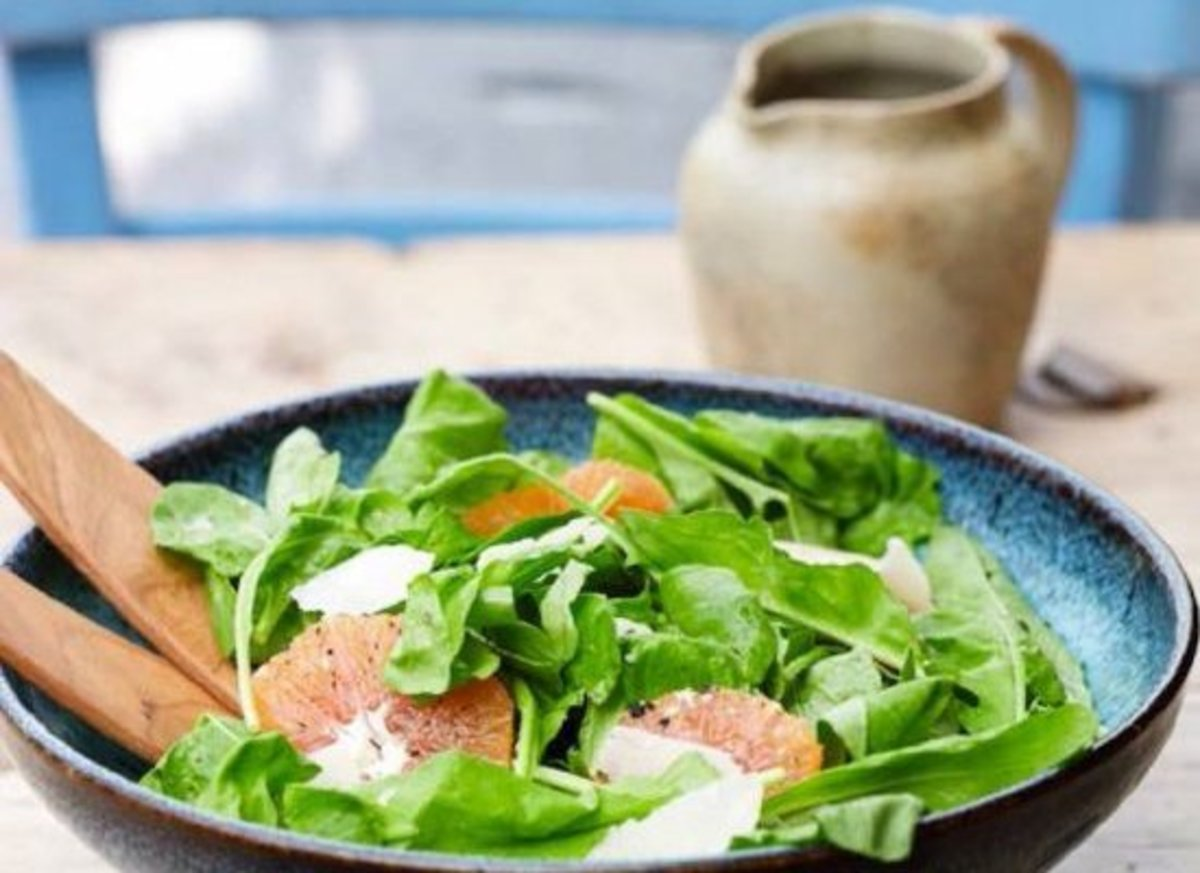 grapefruit salad recipe