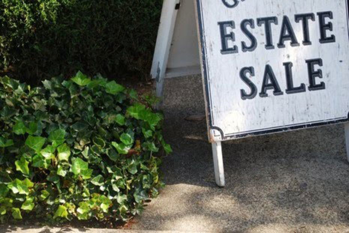 Learn how to find and shop at estate sales.