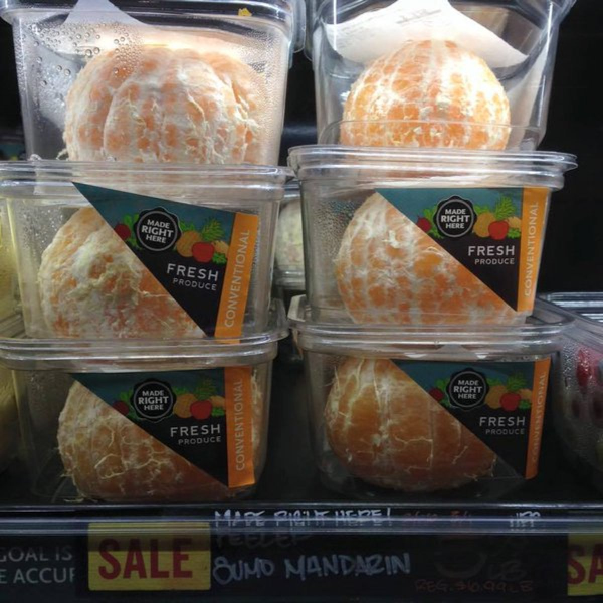 Whole Foods Market Sold Peeled Oranges in Plastic (and It's Probably All Your Fault)
