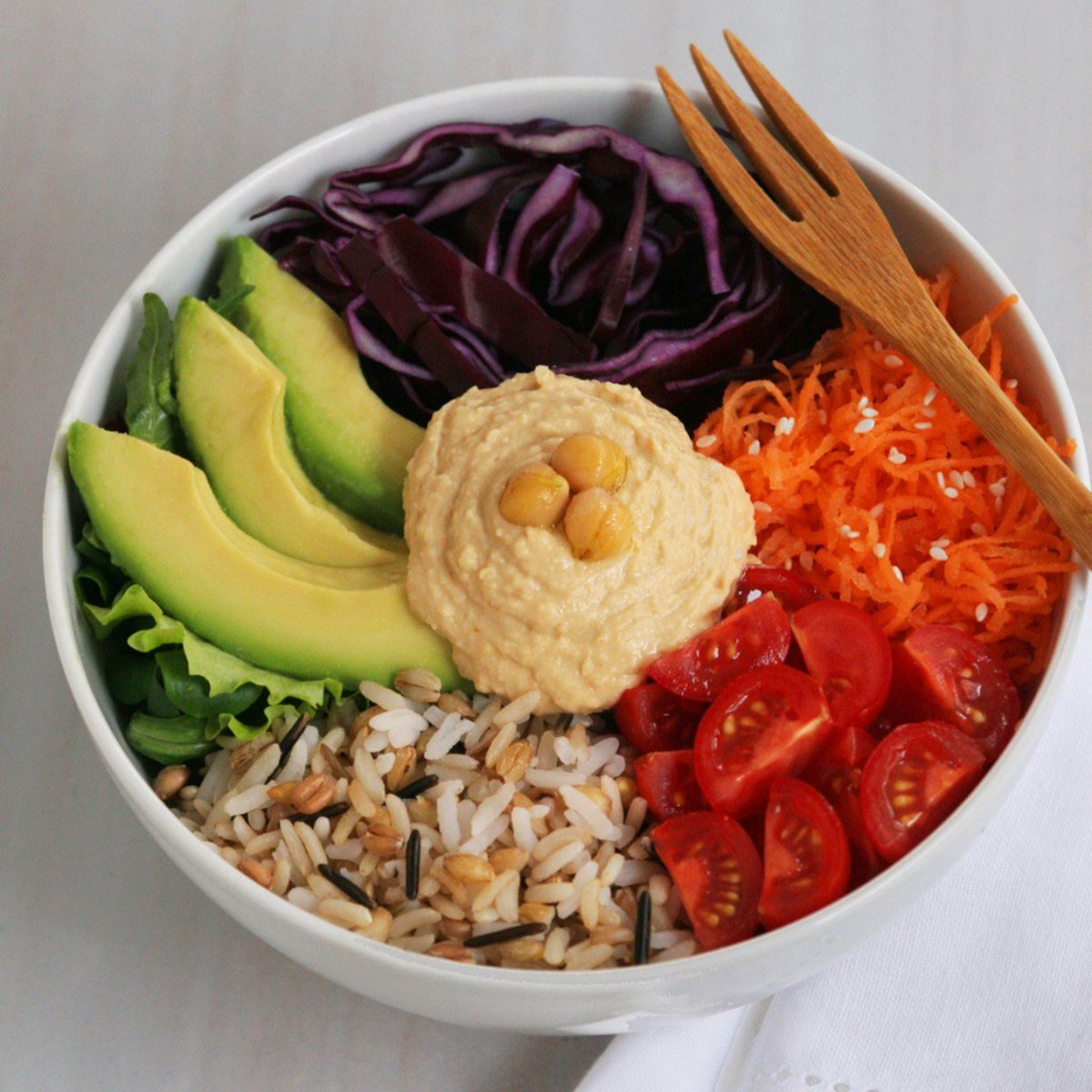 veggie bowl, vegan veggie bowl