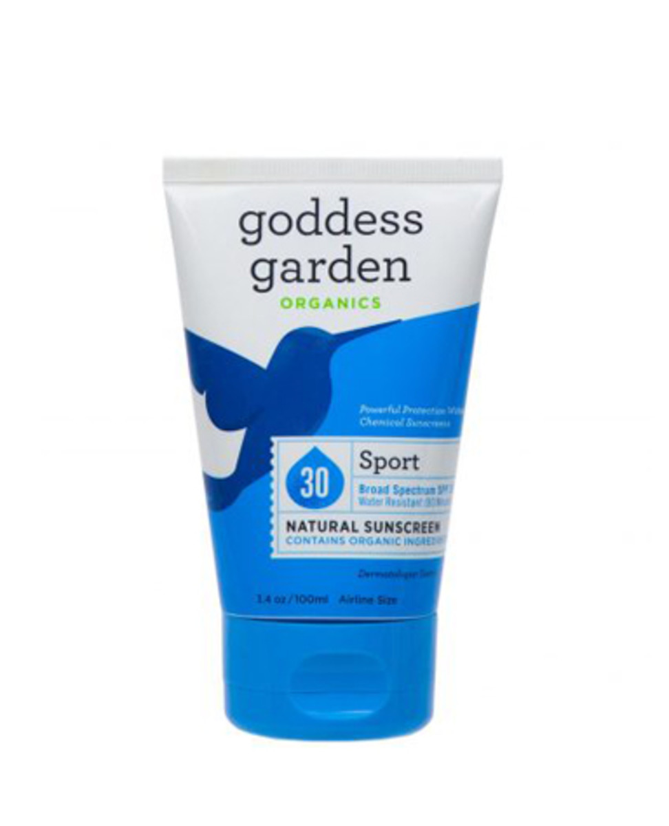 Goddess Garden Organics Sport Natural Sunscreen