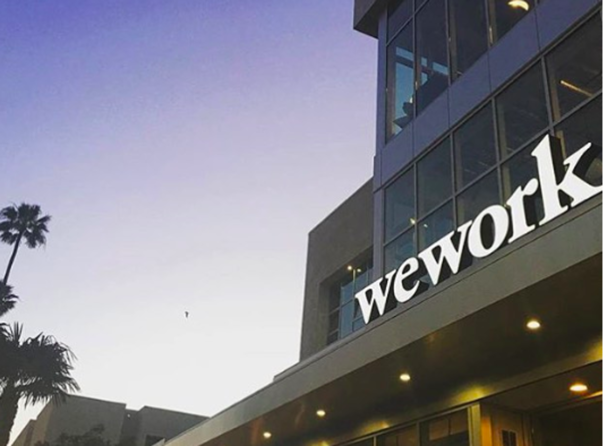 Coworking Space WeWork Phases Out Meat From All Events