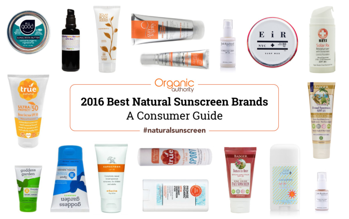 Organic Authority 2016 Natural Sunscreen Guide