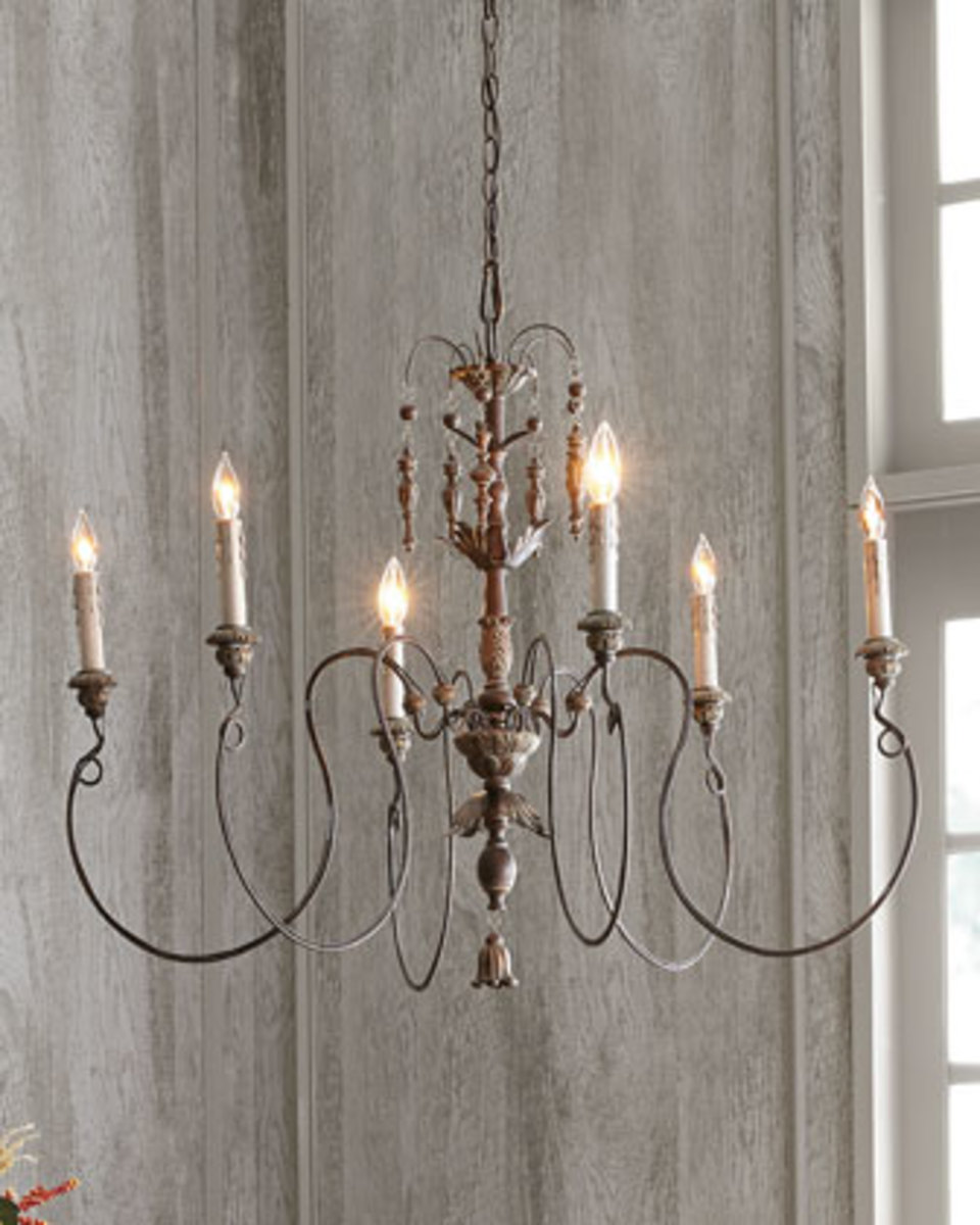 Antique Style Dining Room Chandeliers: 7 Rustic Chic Types Of Chandeliers To Glam Up Your Home