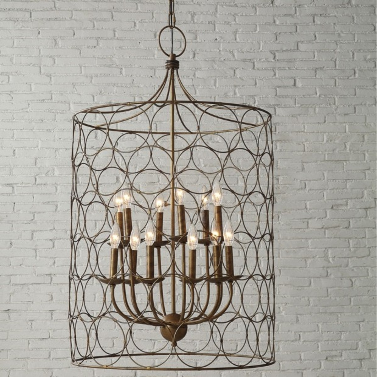 Add some rustic chic light, elegance, and charm to your home