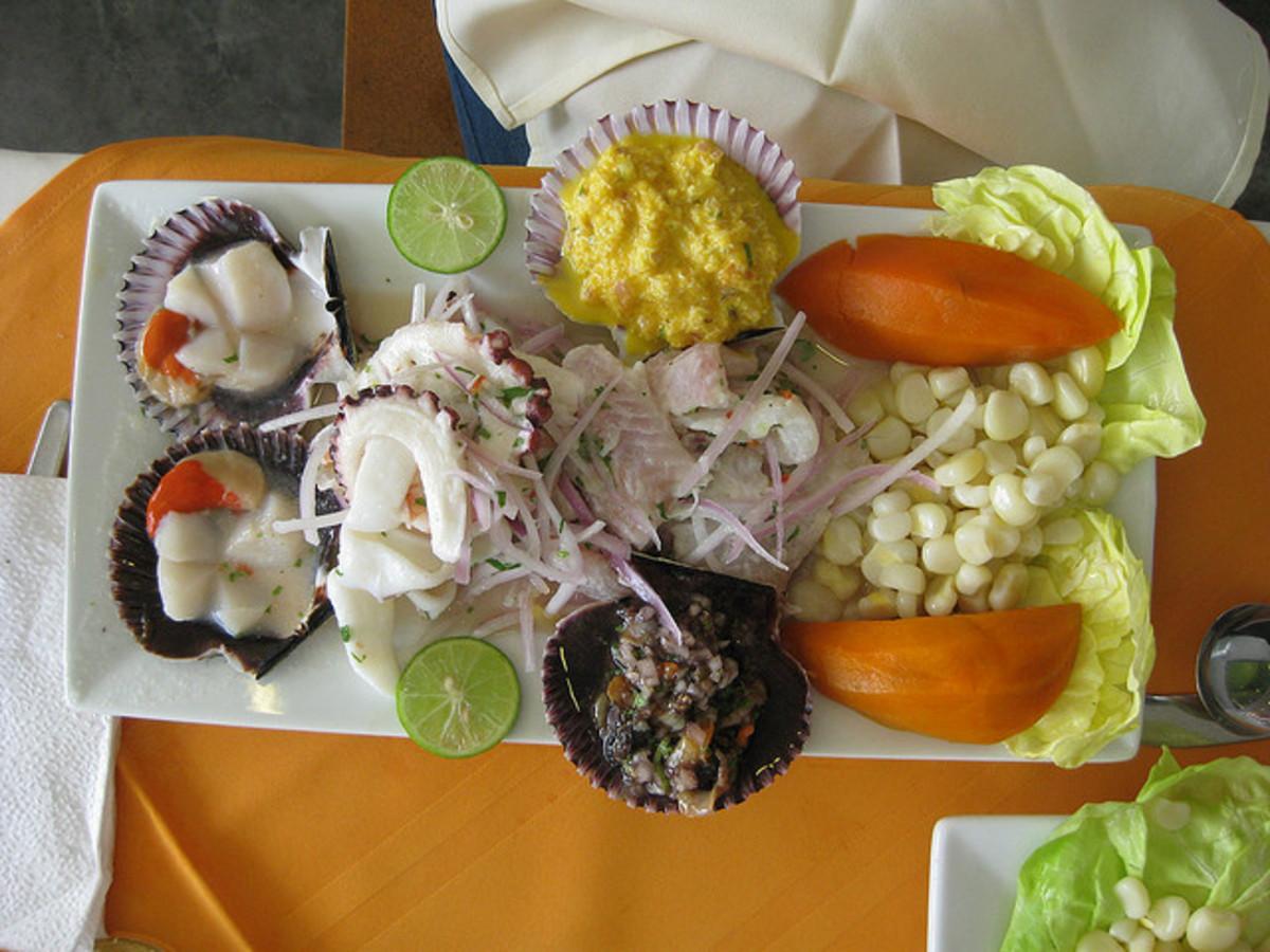 peruvian cuisine ceviche