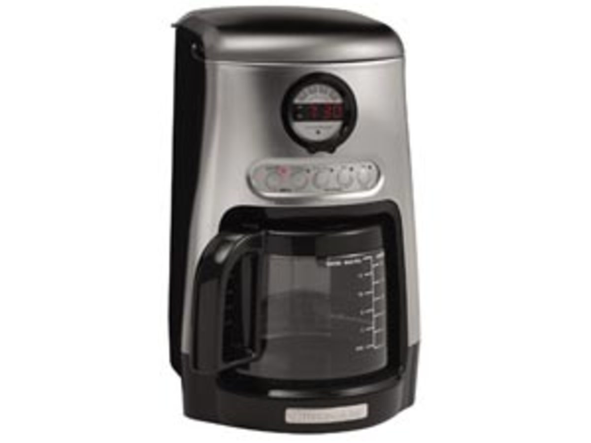 KitchenAid 14-c. JavaStudio Collection Programmable Coffee Maker, Onyx Black