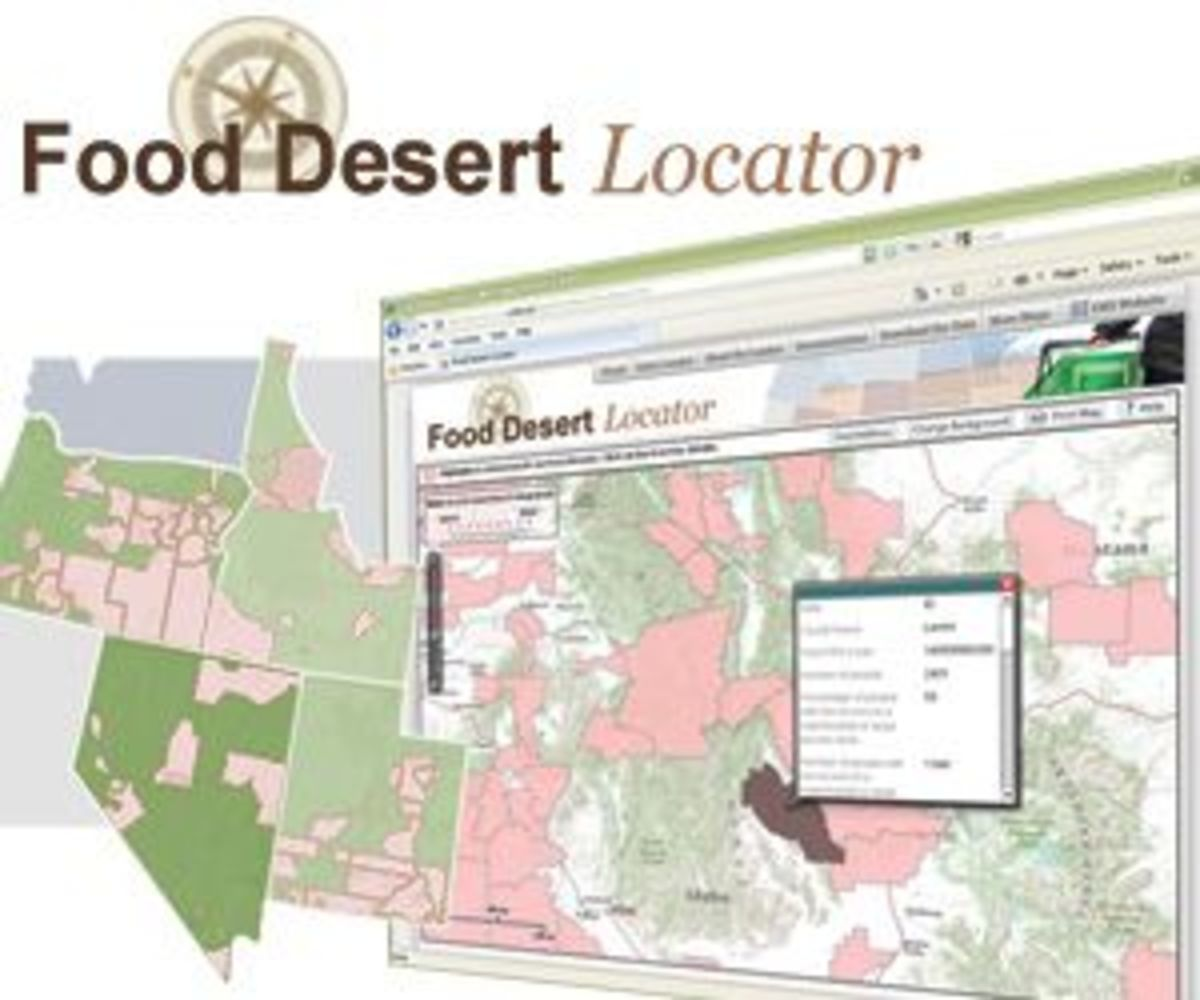 USDA launches food desert locator