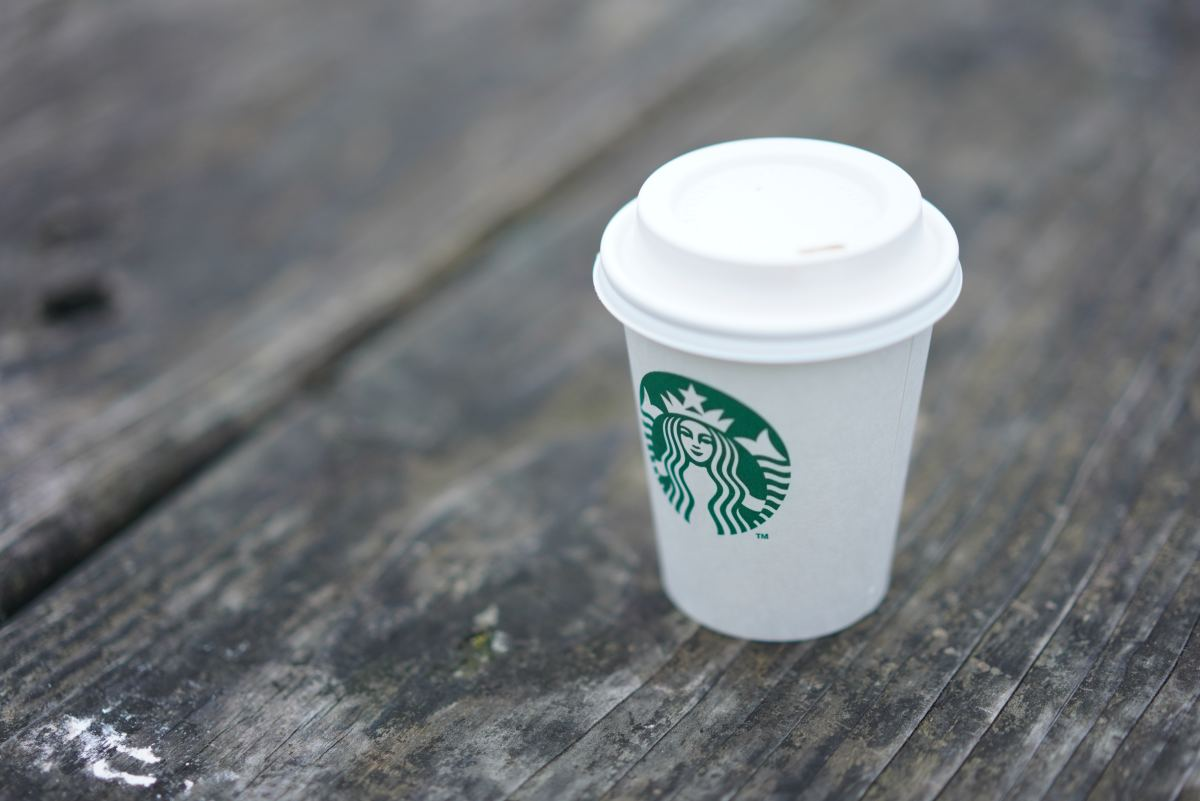 Starbucks McDonald's Compostable Cup