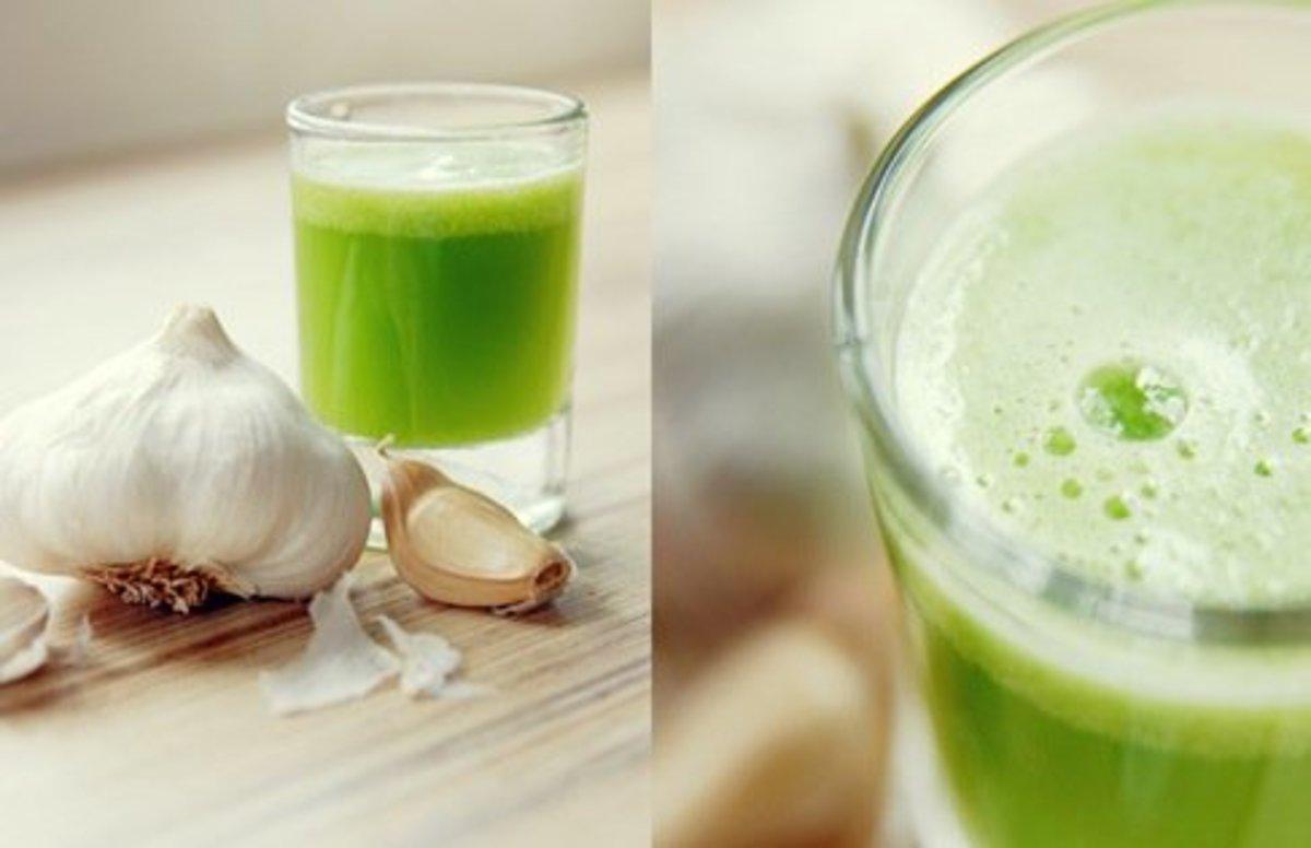 garlic juice