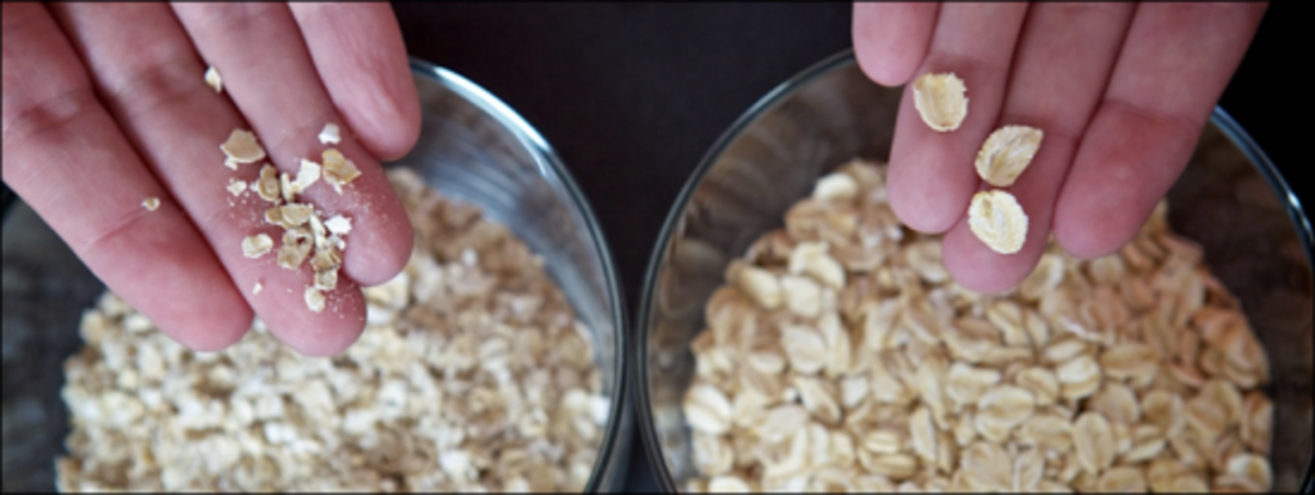 are you eating moldy oats?