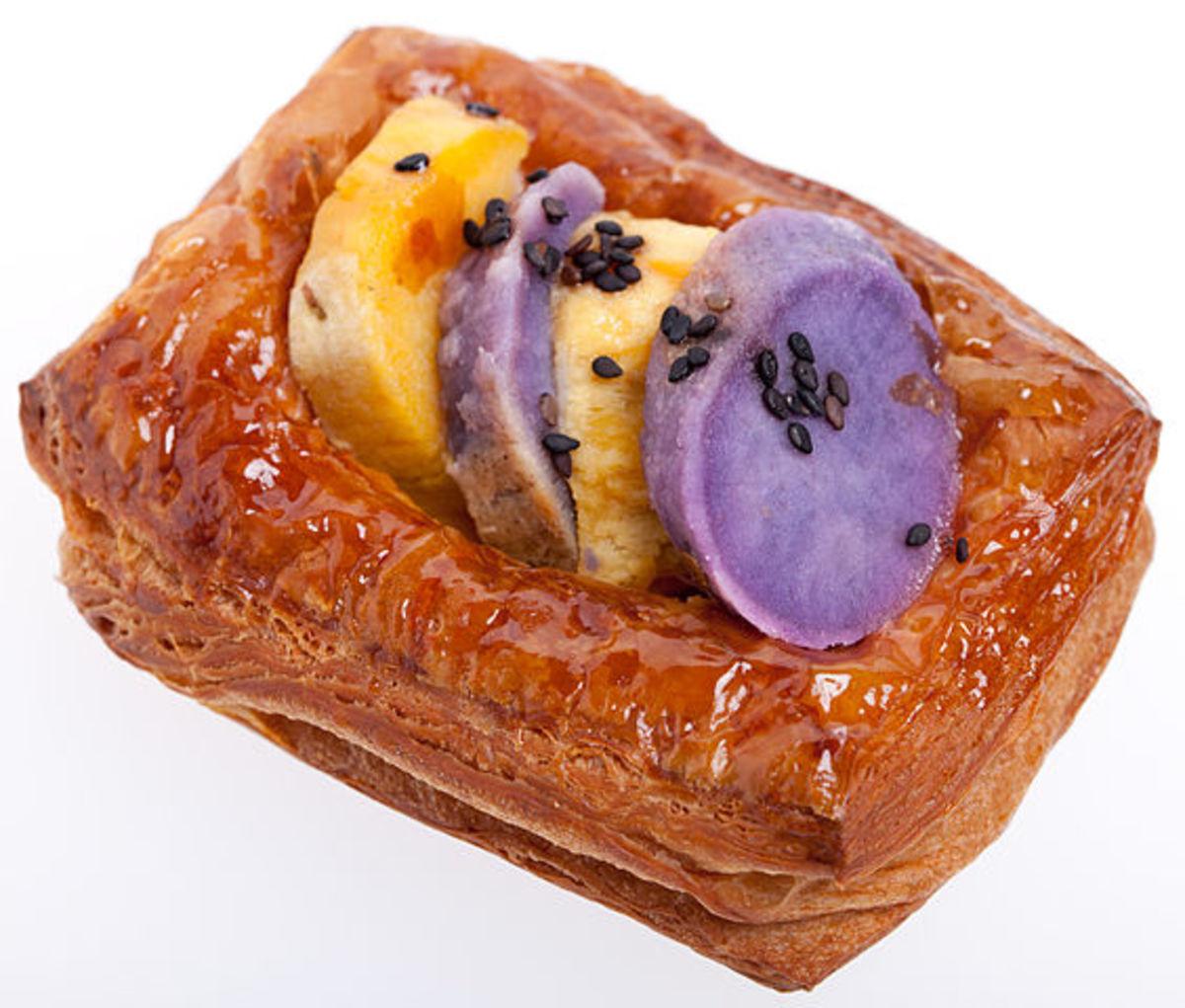 sweet potato pastry