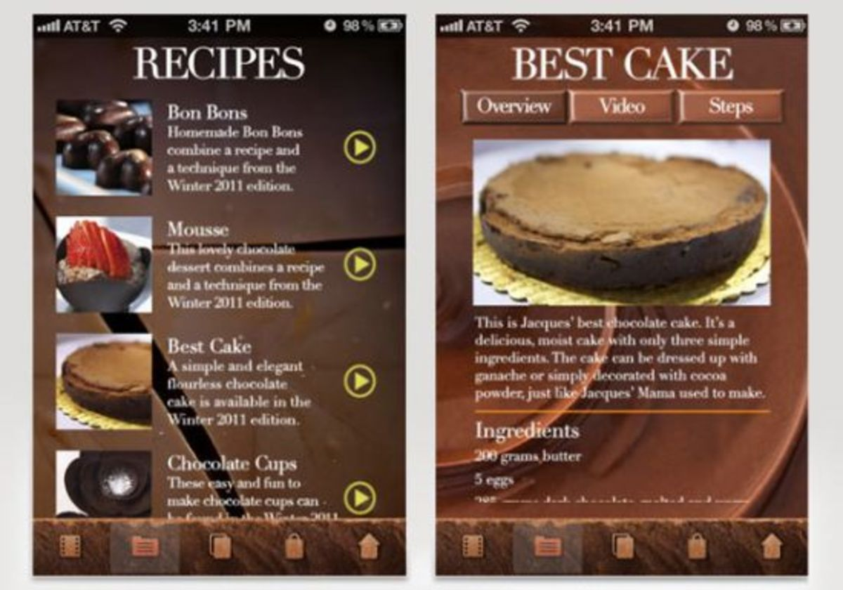 King of Chocolate, Jacques Torres launches new iPhone app