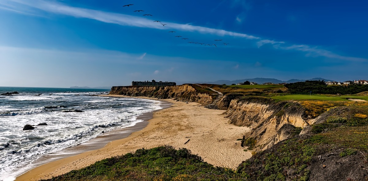 spiritual retreats at half moon bay beach