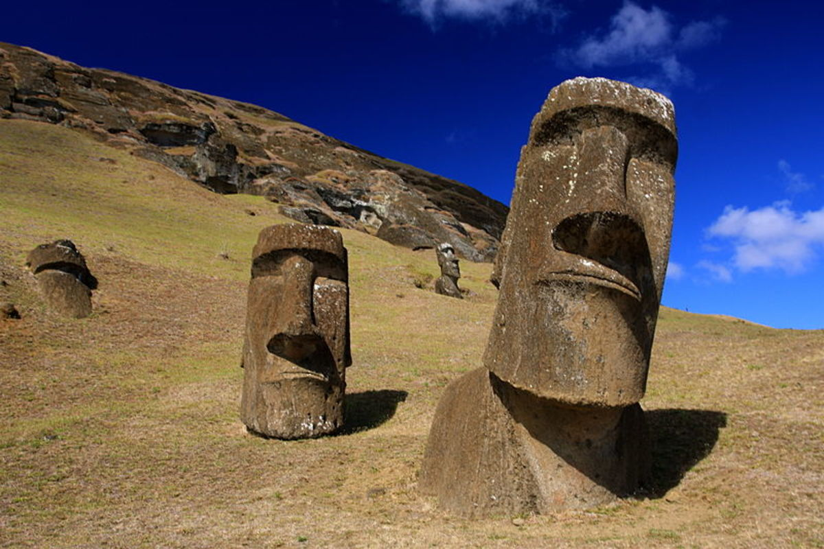spiritual retreats - easter island