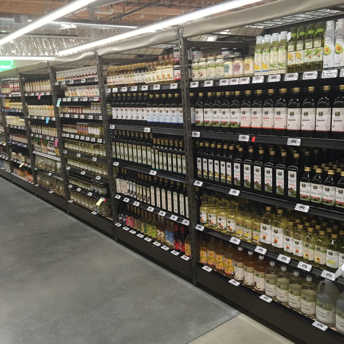 The aisles at 365 are a feast for the eyes.