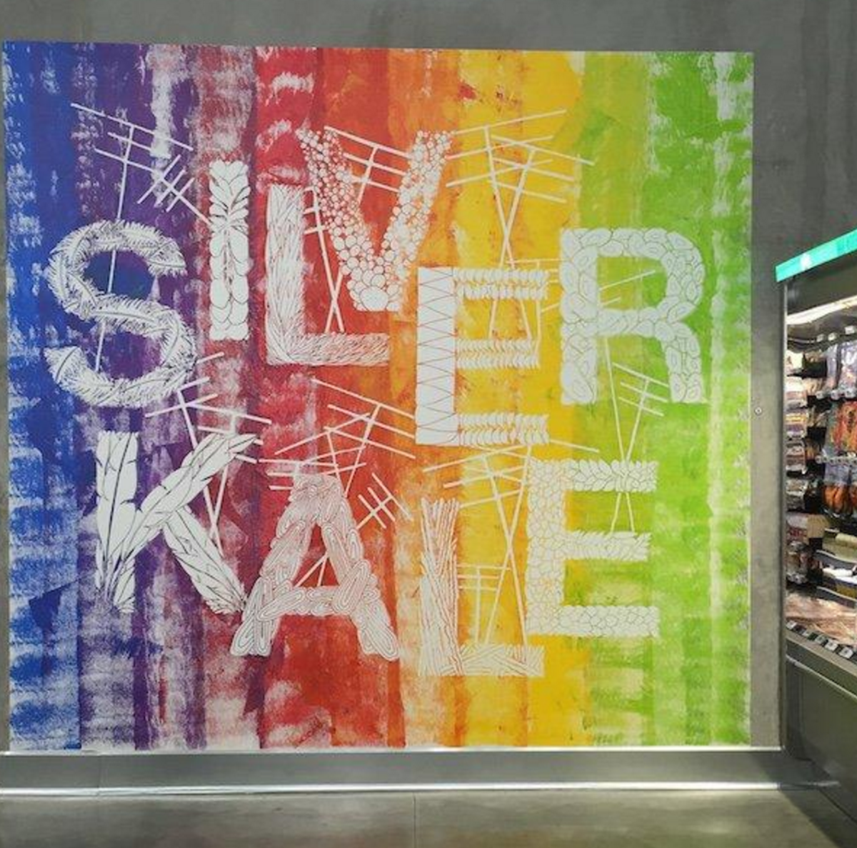 Silver Kale. Those words are emblazoned on a giant wall of the new 365 by Whole Foods Market situated in the trendy LA neighborhood of Silver Lake. It's a playful twist, much like the rest of the store.