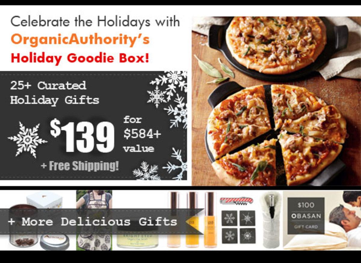 Organic Authority's Holiday Goodie Box 2014