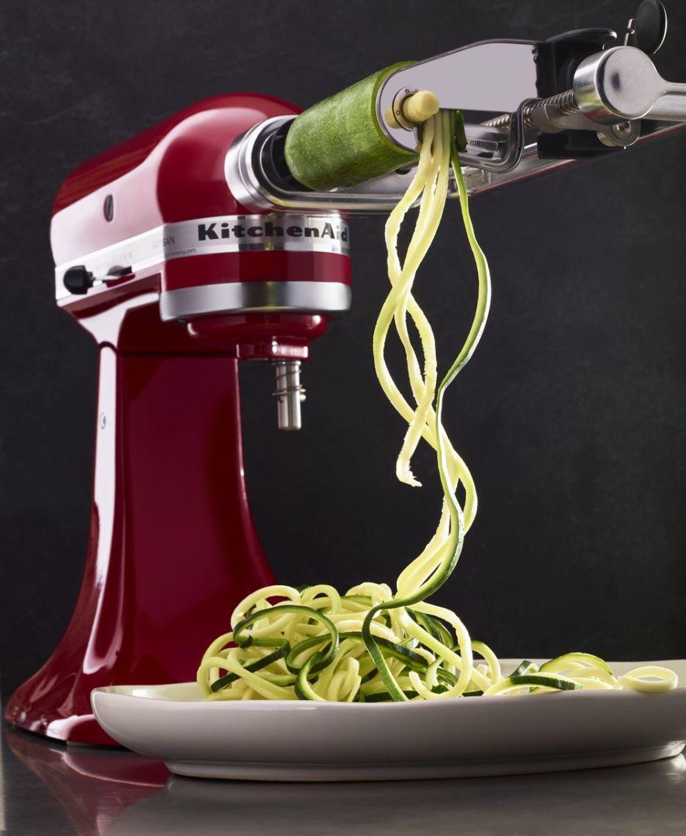 Get Ready for Holiday Baking With a KitchenAid® Mixer! -> Kitchenaid Spiralizer