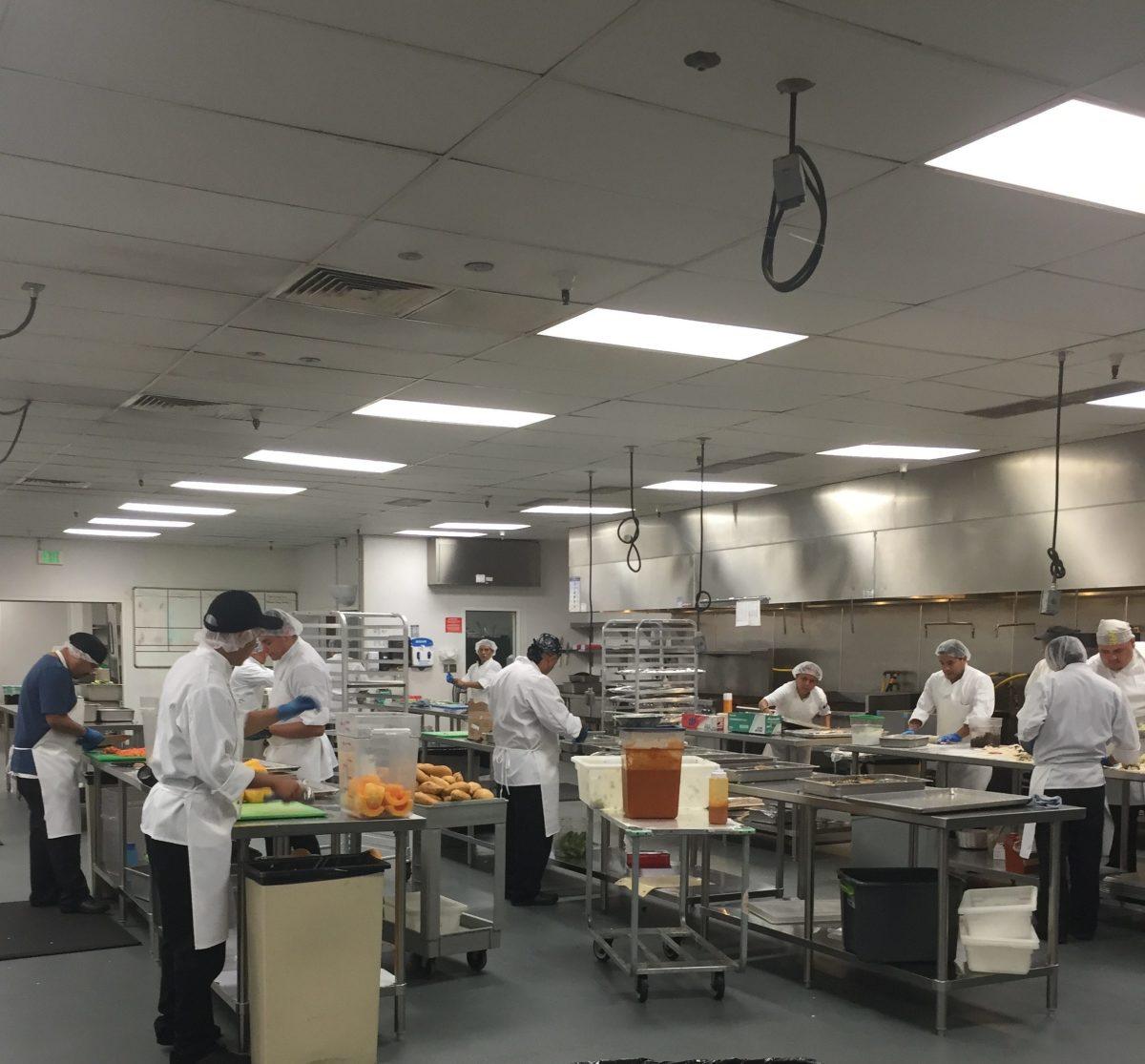 Veestro Chefs preparing meals