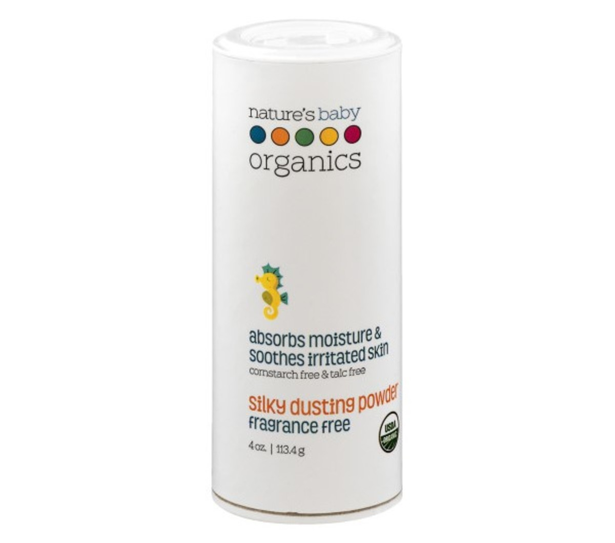 Natures Baby Organics Silky Dusting Powder