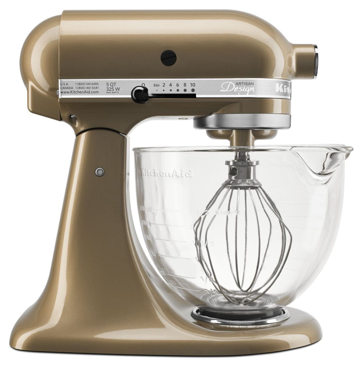 The KitchenAid® Artisan® Design Series Stand Mixer is a useful and