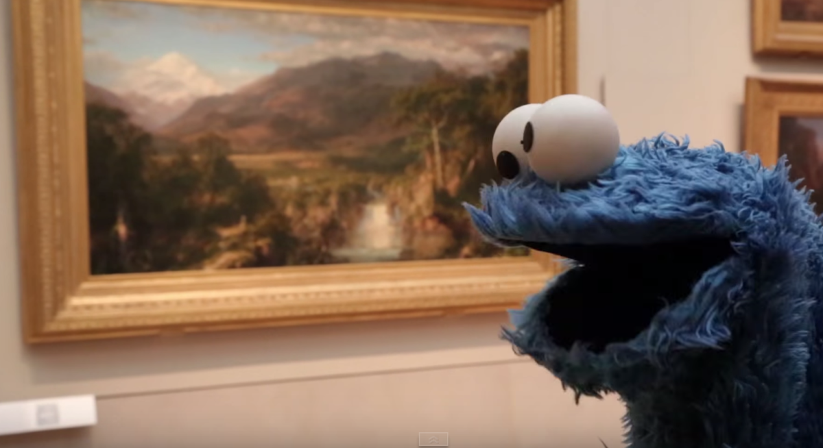 Cookie Monster Dishes Deep Food Wisdom: 'Lasagna is Spaghetti-Flavored Cake' [Video]