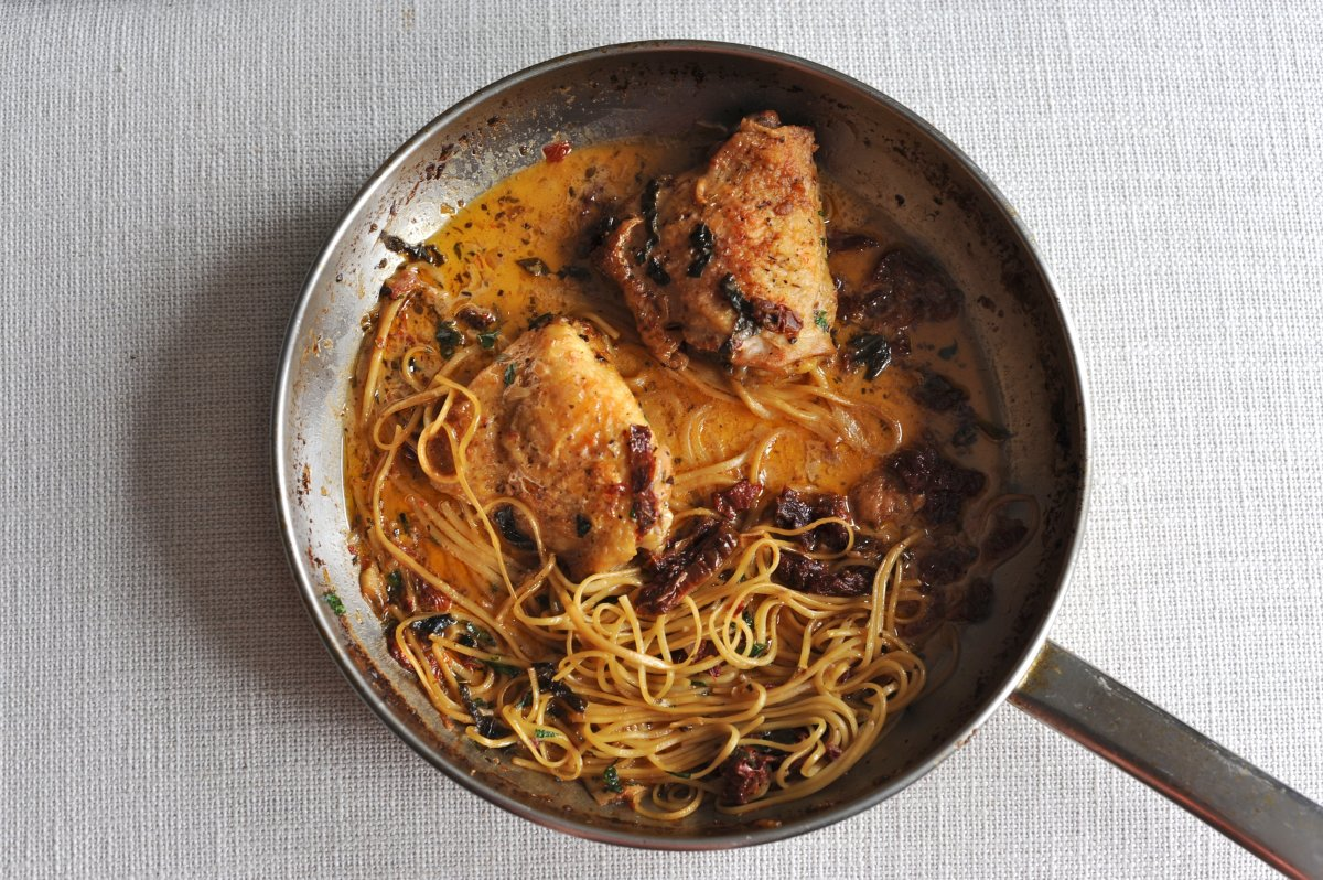 sun-dried tomato chicken