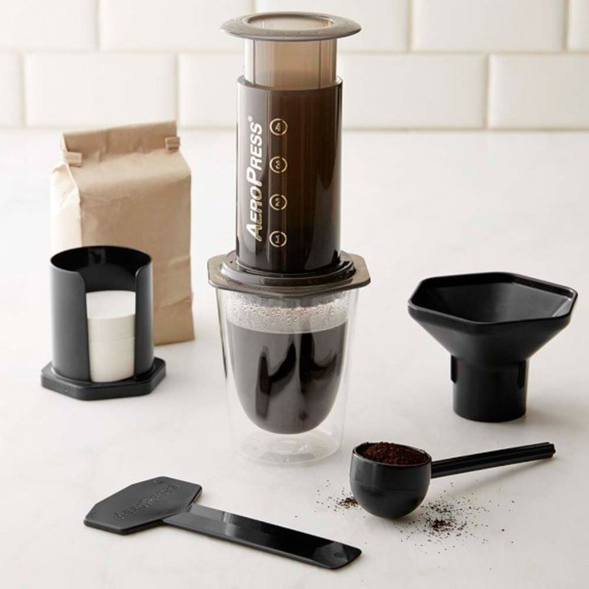 Coffee brewing methods.