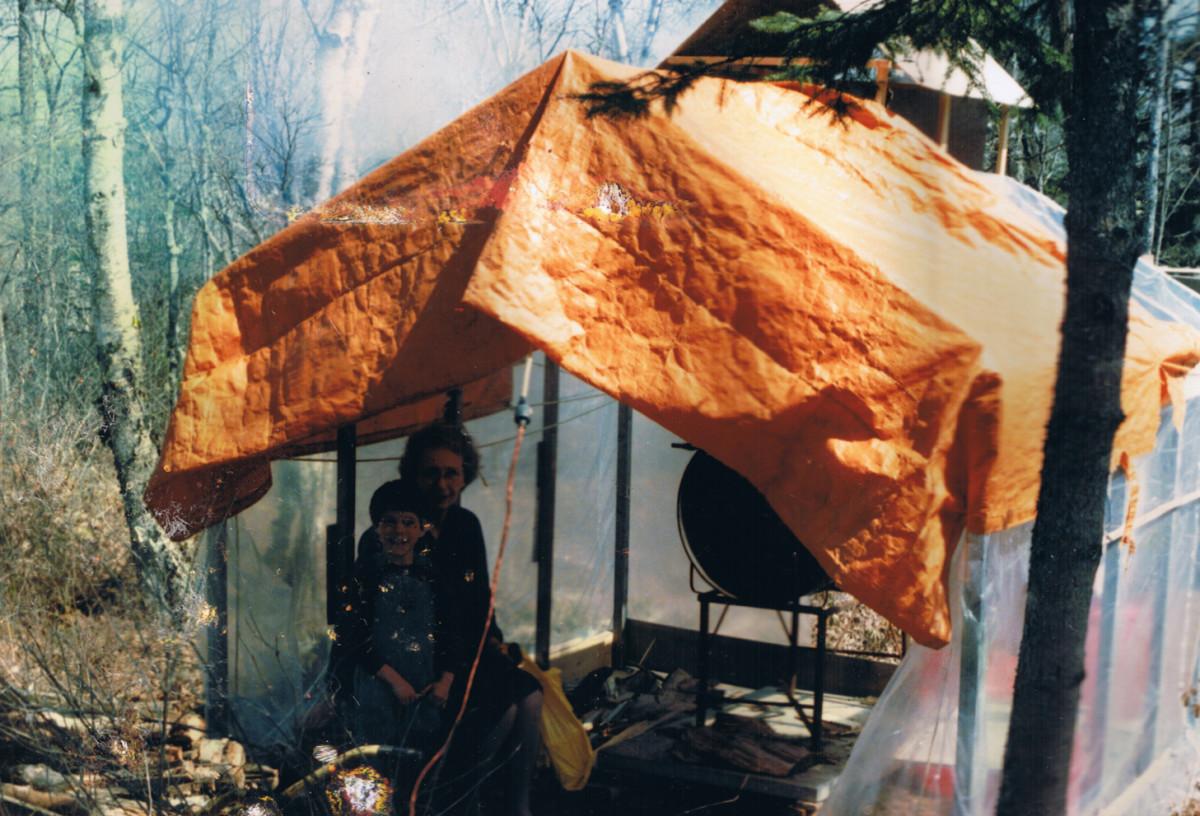 Brian William Allaway and Dorthy Allaway first sugar camp.