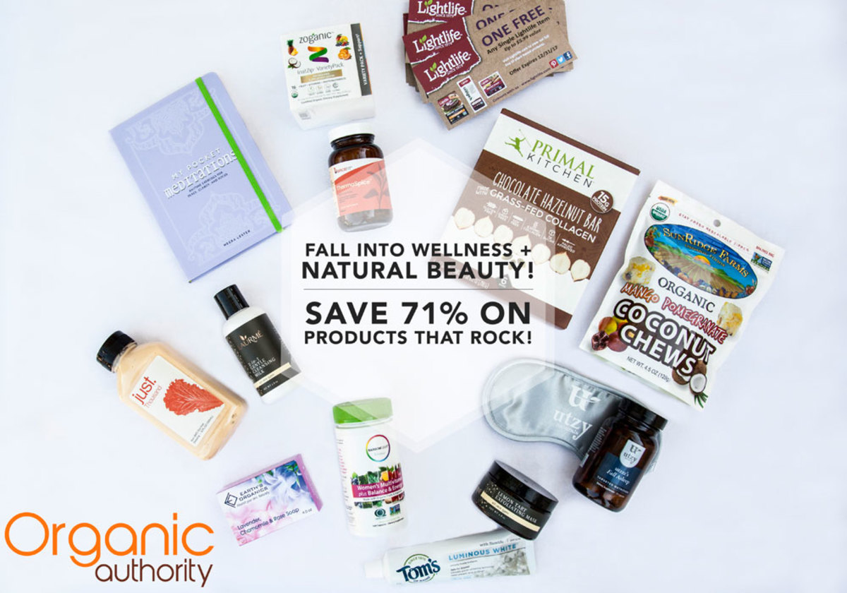 Organic Authority's Fall 2017 Goodie Box