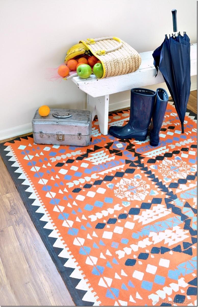 Clever diy rug ideas.