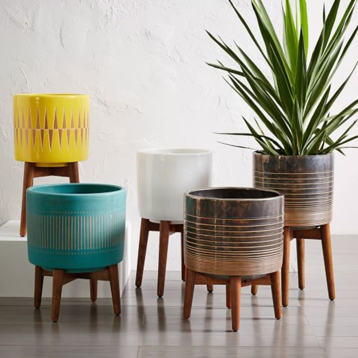 Fun Indoor And Outdoor Planters For Your E