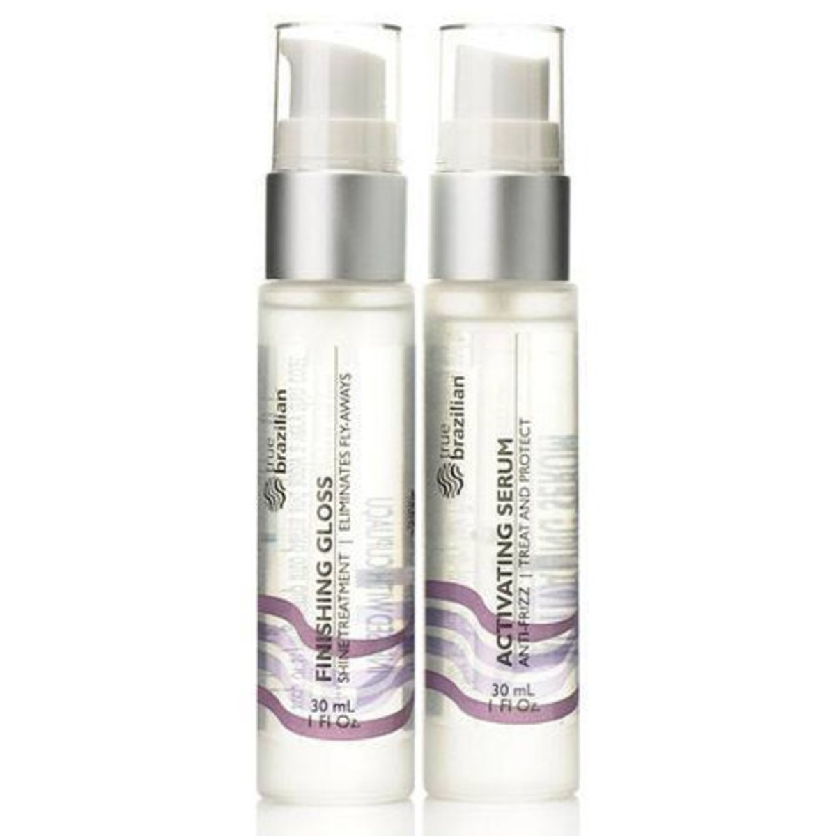 Suzanne Sommers True Brazilian Activating Serum and Finishing Gloss