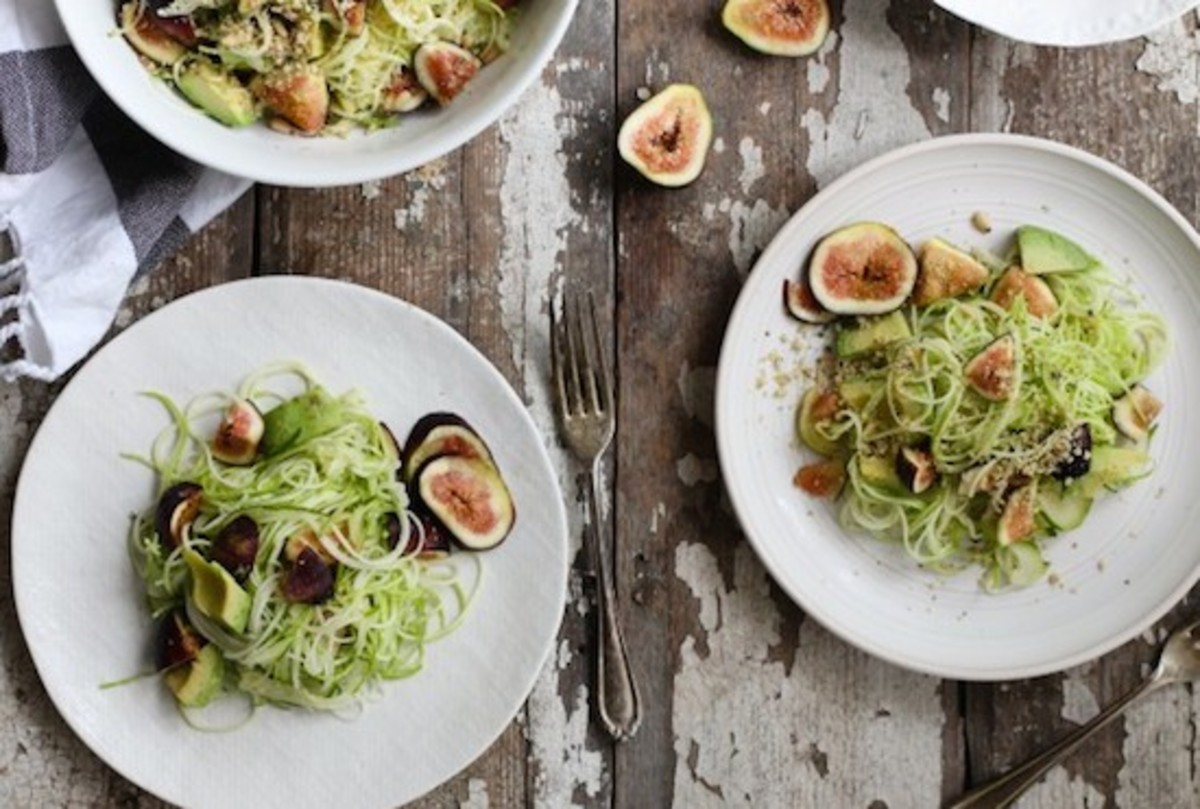 fig zucchini pasta