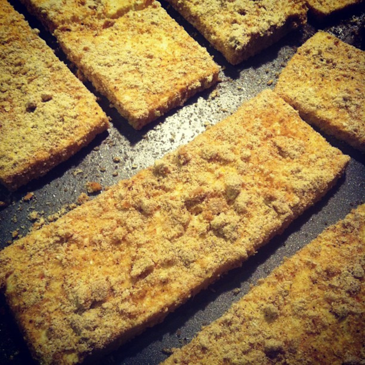 Baked tofu is a great dish to make.