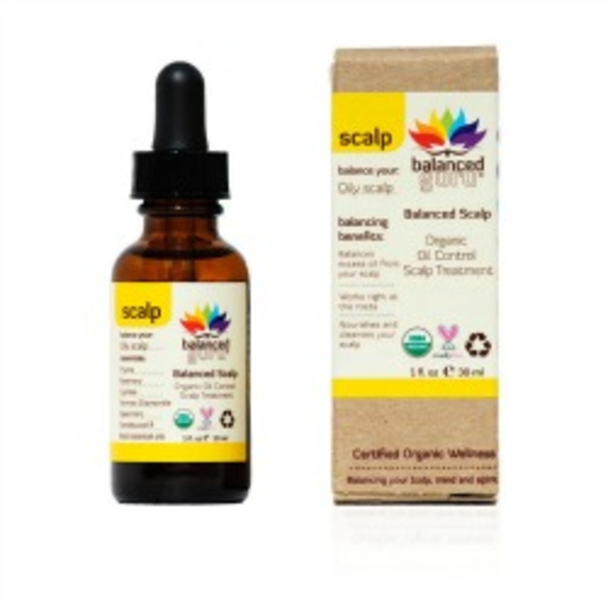 Winter Healthy Hair Secret Balanced Guru Organic Oil Control Scalp Treatment