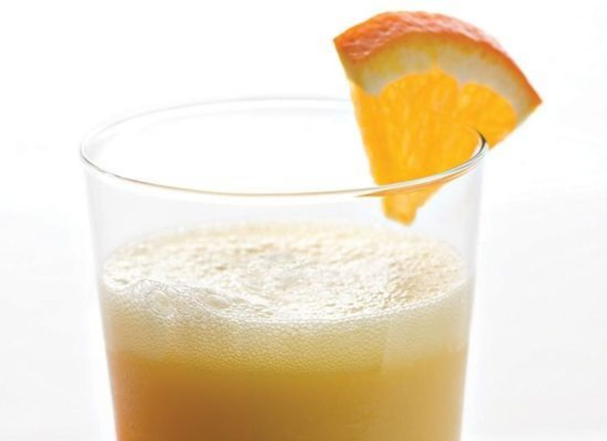 Orange Cinnamon Breakfast Boost