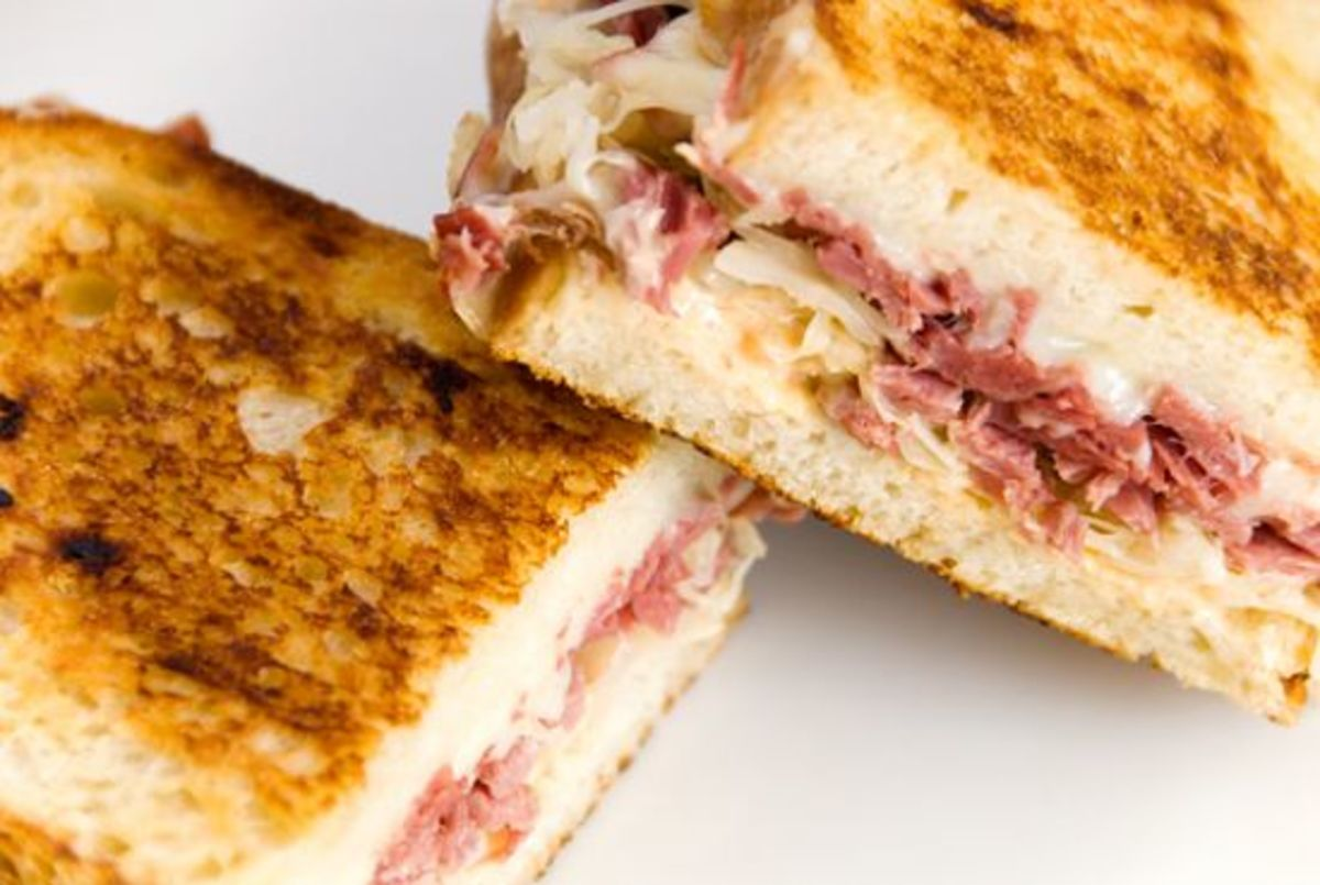 The perfect Reuben sandwich starts with the perfect ingredients: top ...