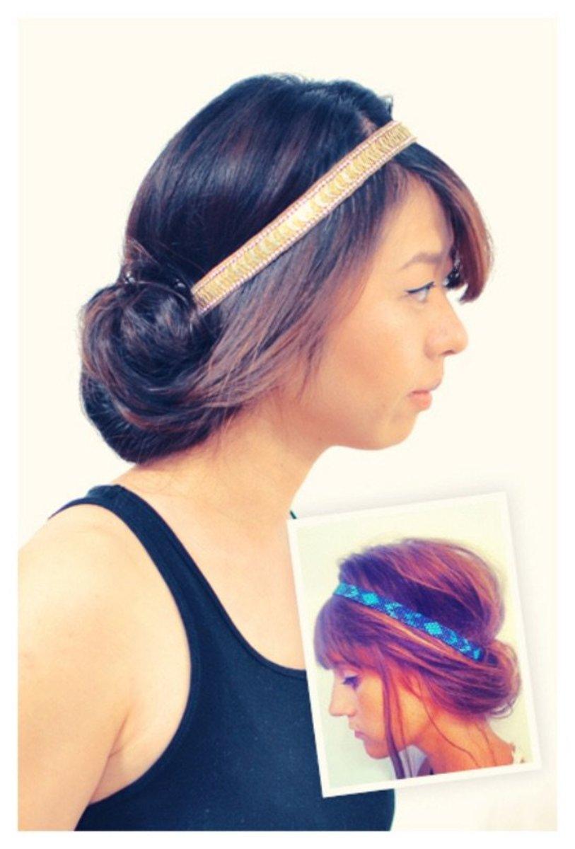 headband hair hacks
