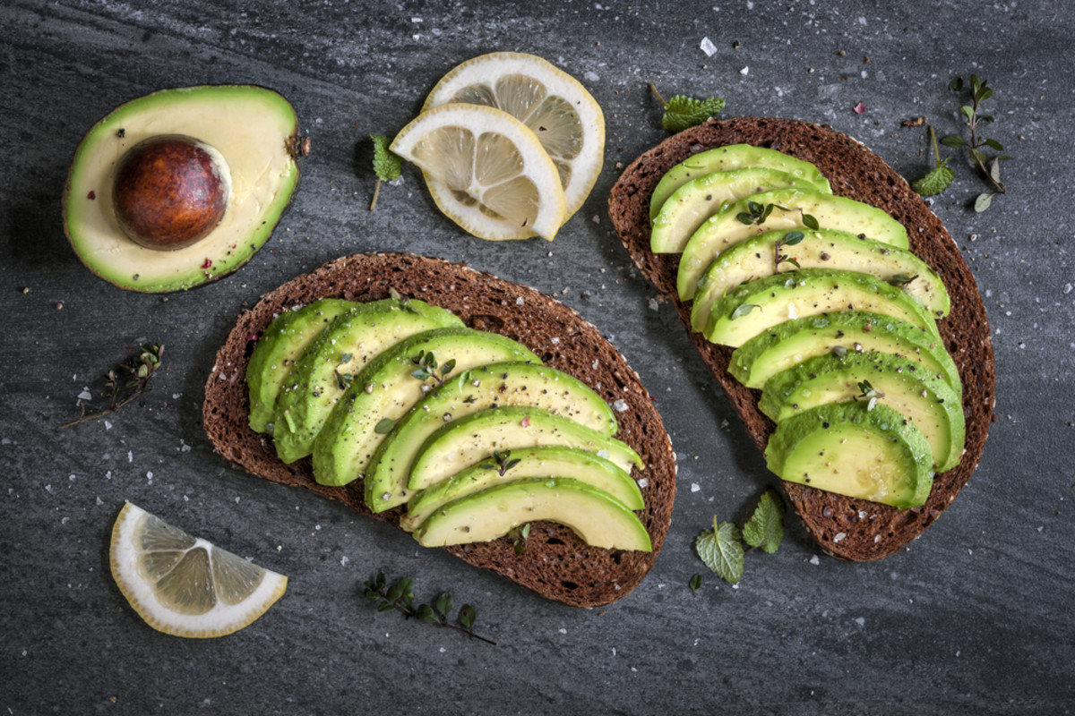eat avocado toast for avocado nutrition