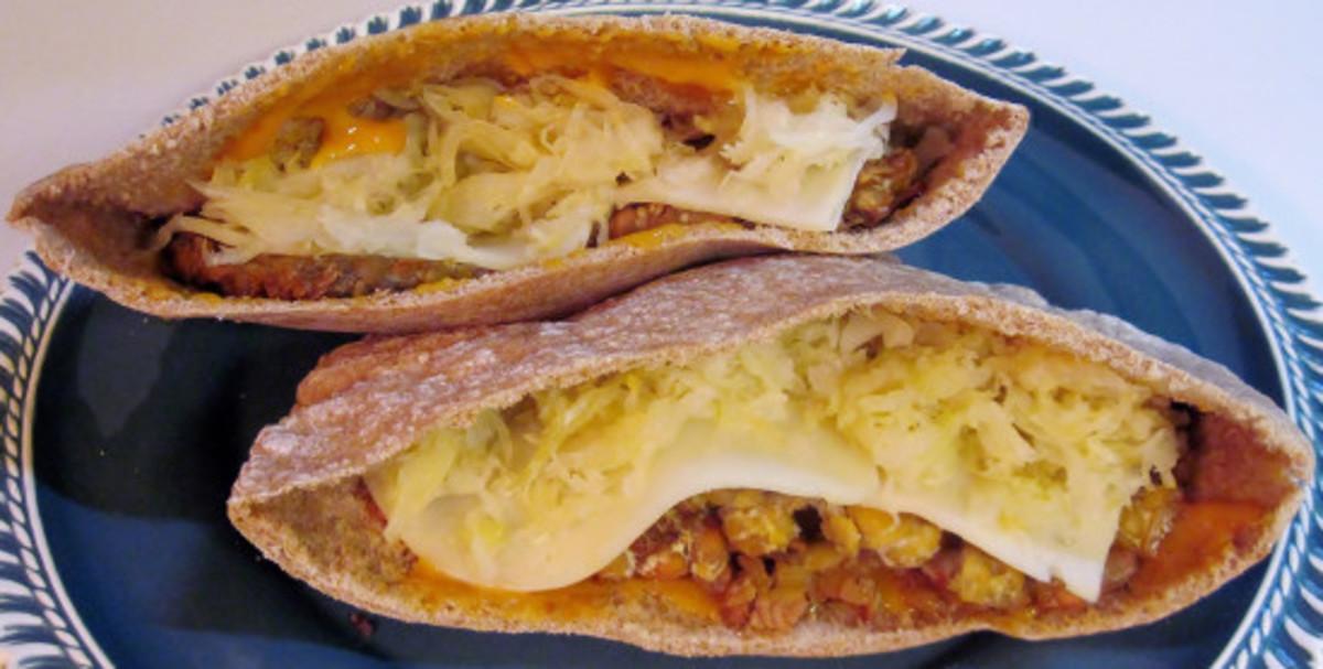Conscious eating, sandwich recipe