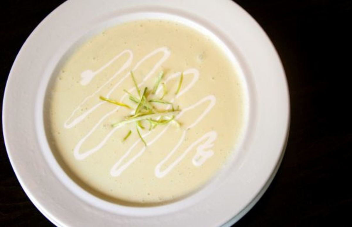 potato leek bisque