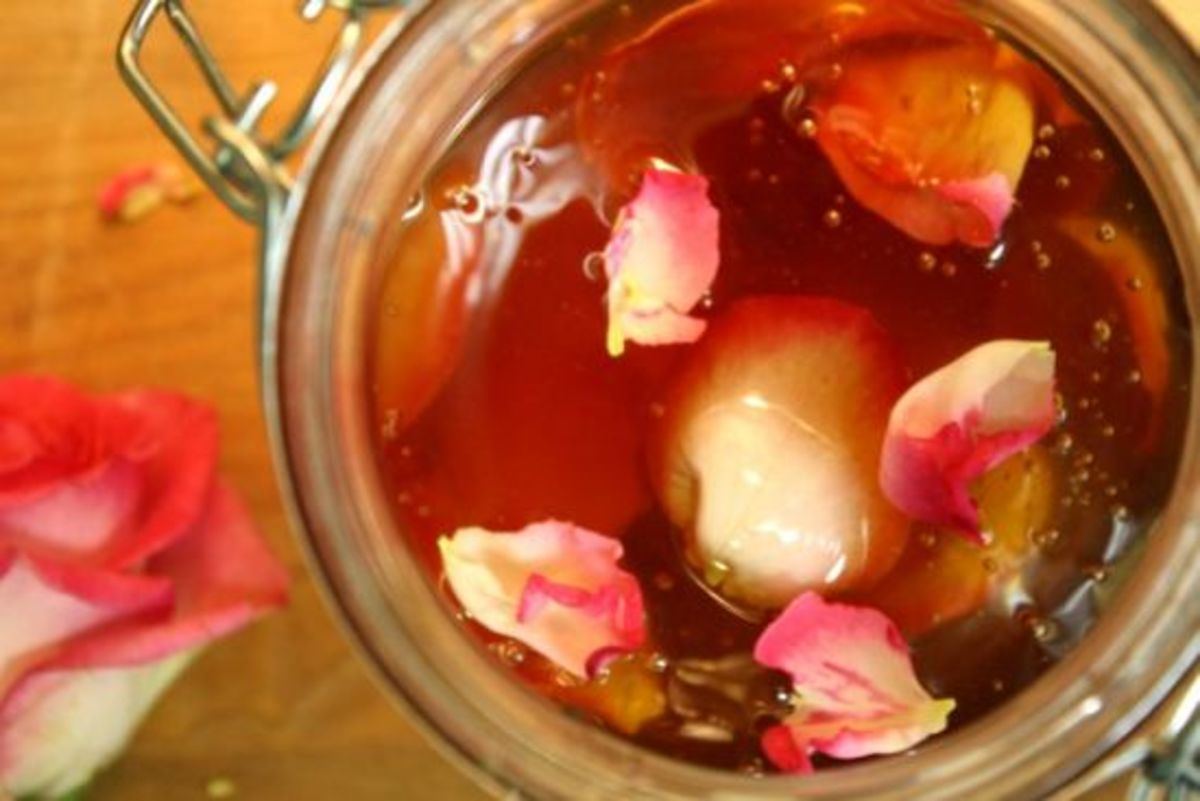 Rose Petal Honey 1 by Kimberley Stakal