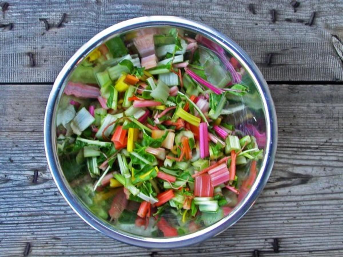Conscious eating, salad