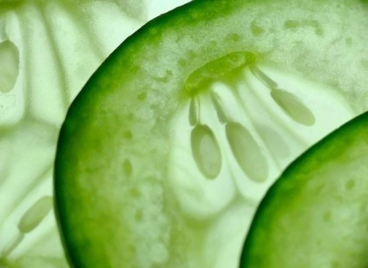 cucumber slice