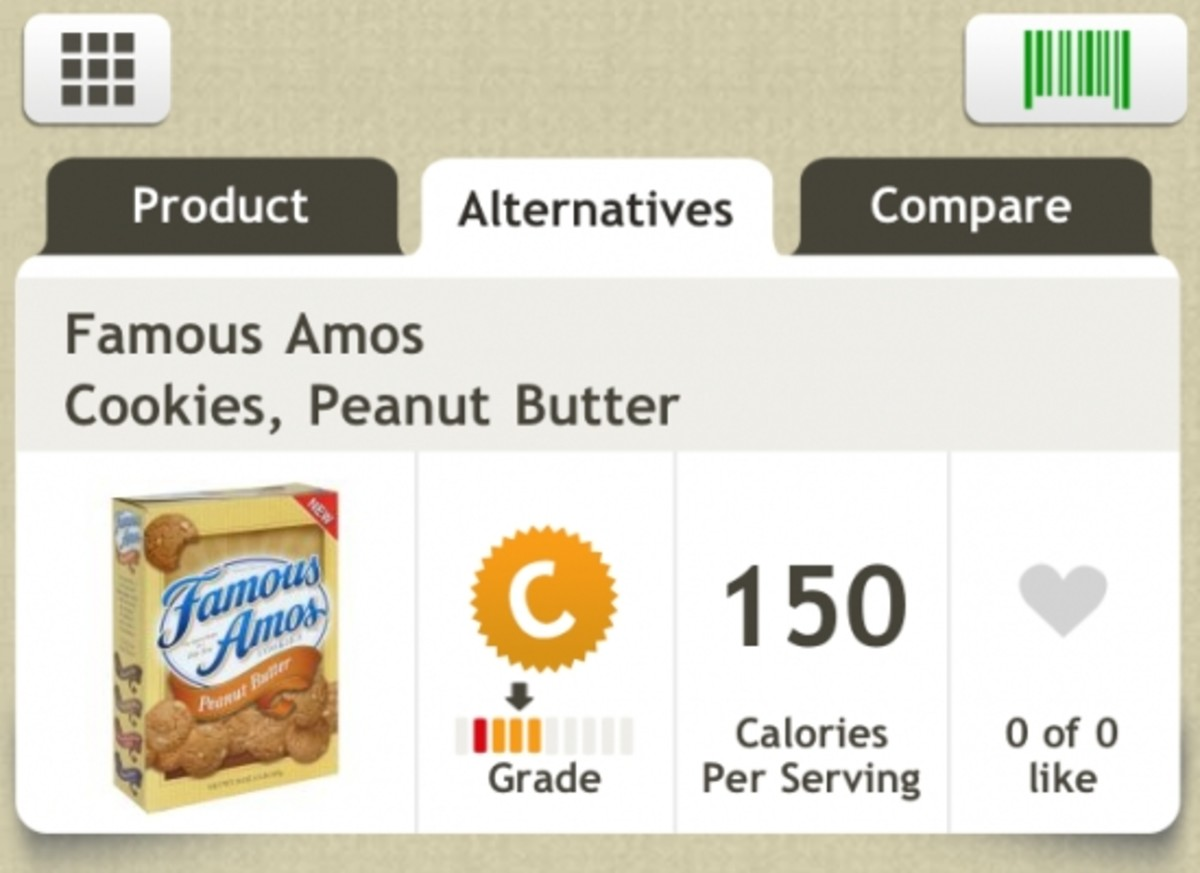 Foods graded by Fooducate is a healthy way to shop