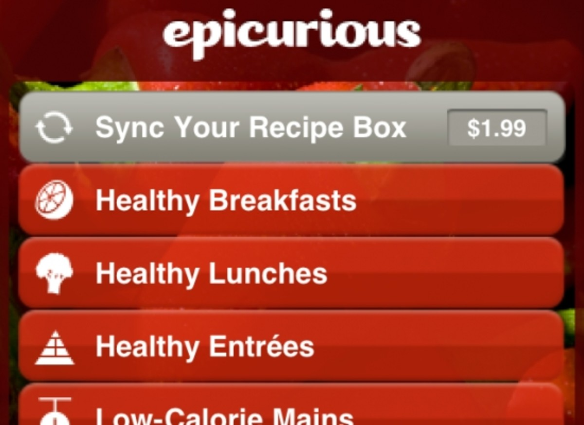 Never be at a loss for a recipe idea again with Epicurous